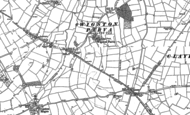 Old Map of Wigston Parva, 1901 - 1902