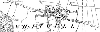 Old map of Borrow Moss centred on your home