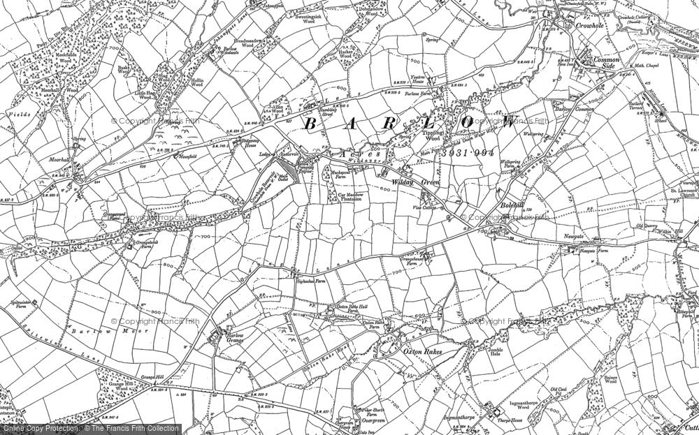 Wilday Green, 1876
