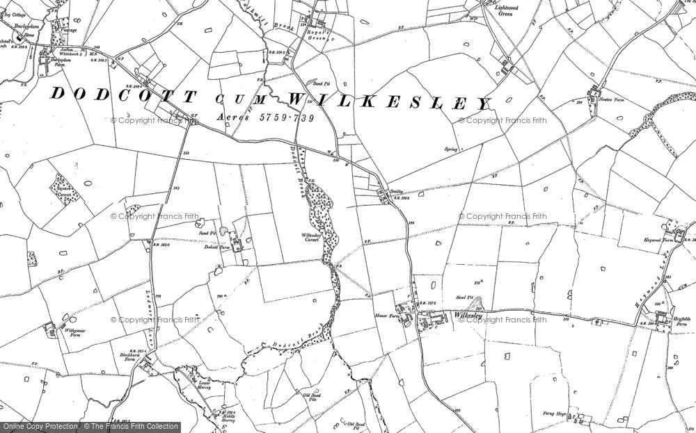 Wilkesley, 1908