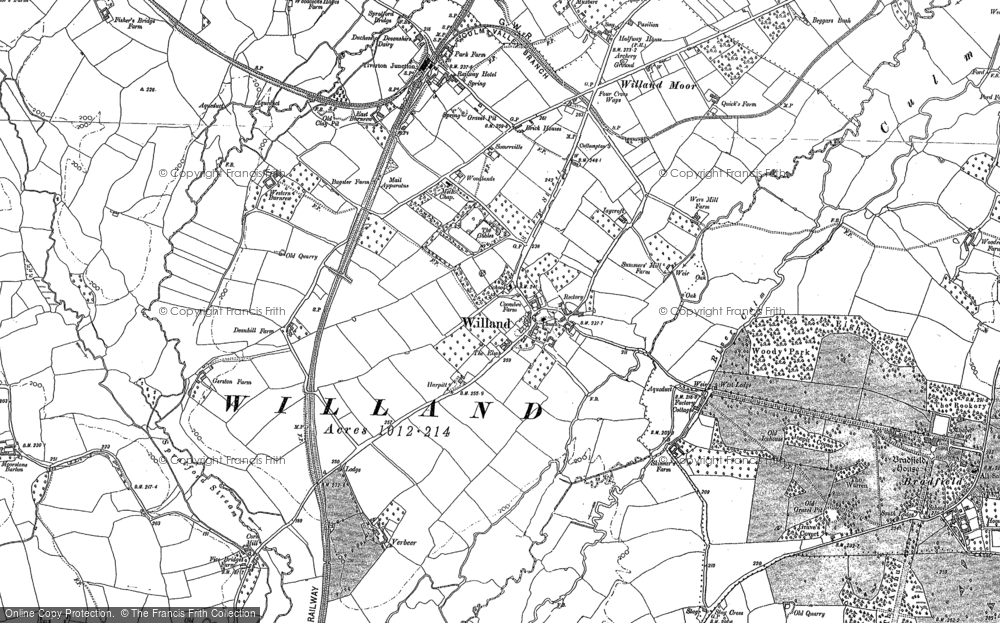 Willand, 1887
