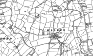 Old Map of Willen, 1924
