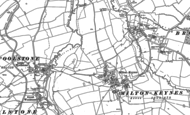 Old Map of Willen Lake, 1924