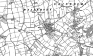 Old Map of Willersey, 1880 - 1900