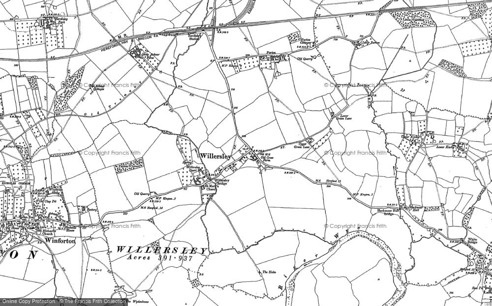 Willersley, 1886