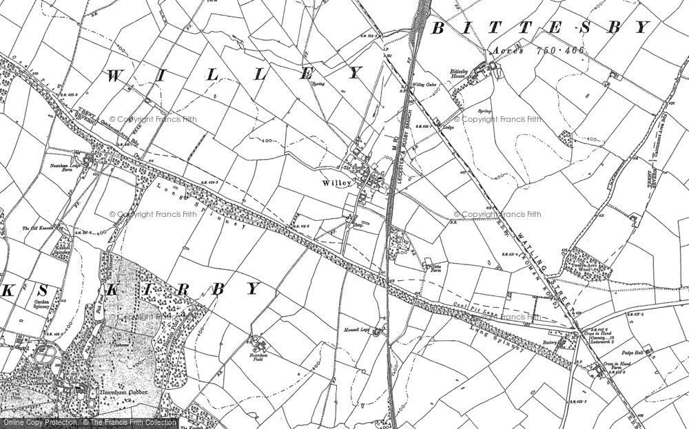 Map of Willey, 1901 - 1902