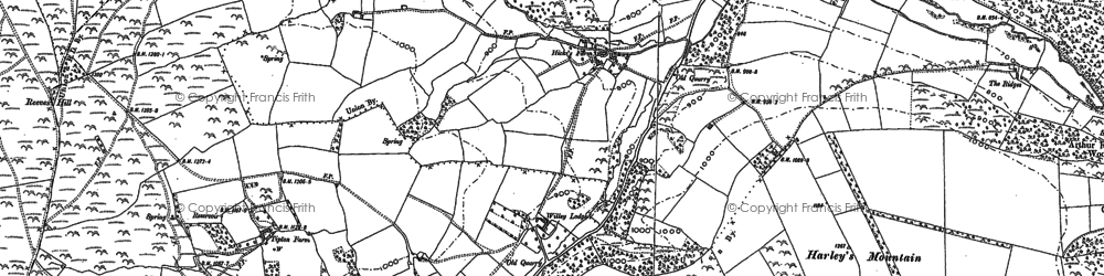 Old map of Willey Lodge in 1902