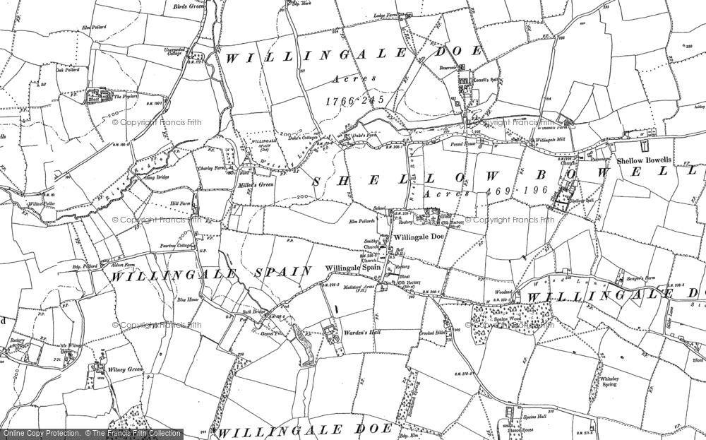 Willingale, 1895