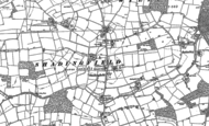 Old Map of Willingham, 1883