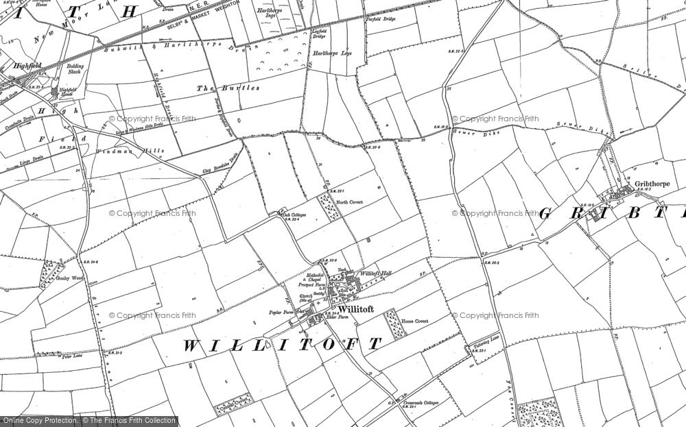 Willitoft, 1889