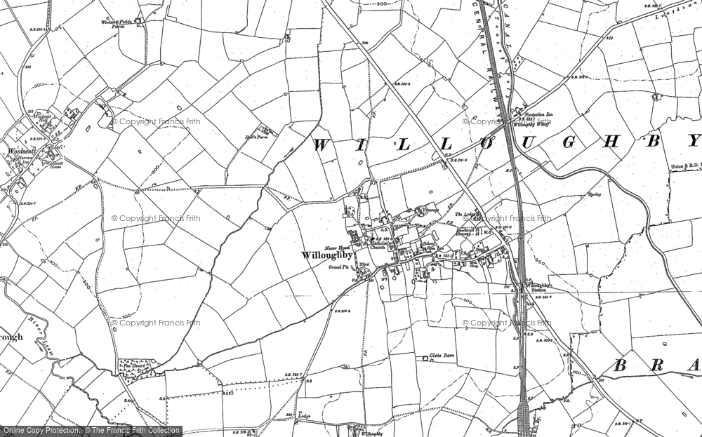 Map of Willoughby, 1899 - 1904