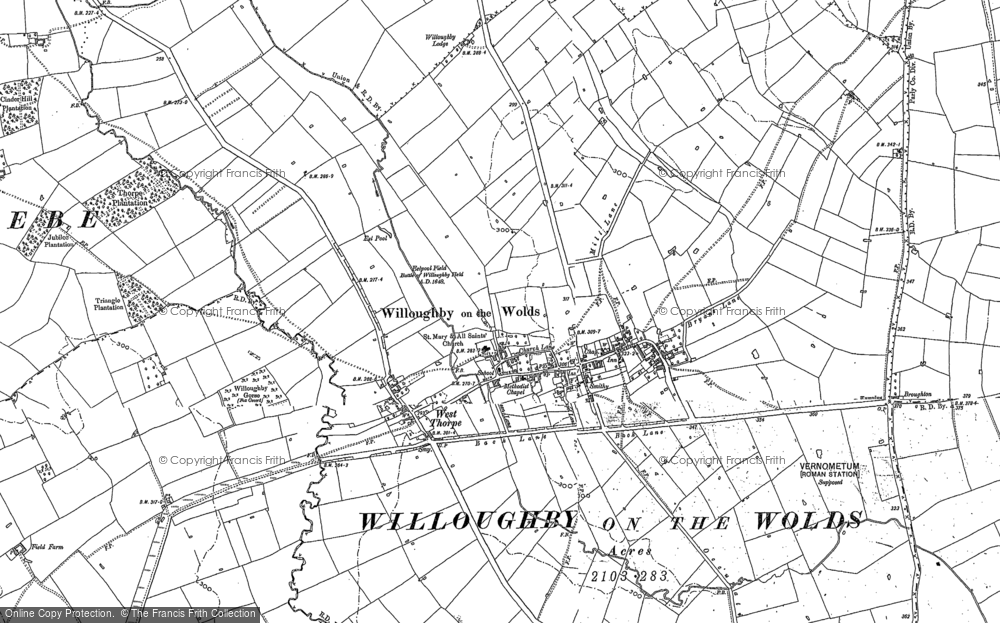 Willoughby-on-the-Wolds, 1883 - 1902