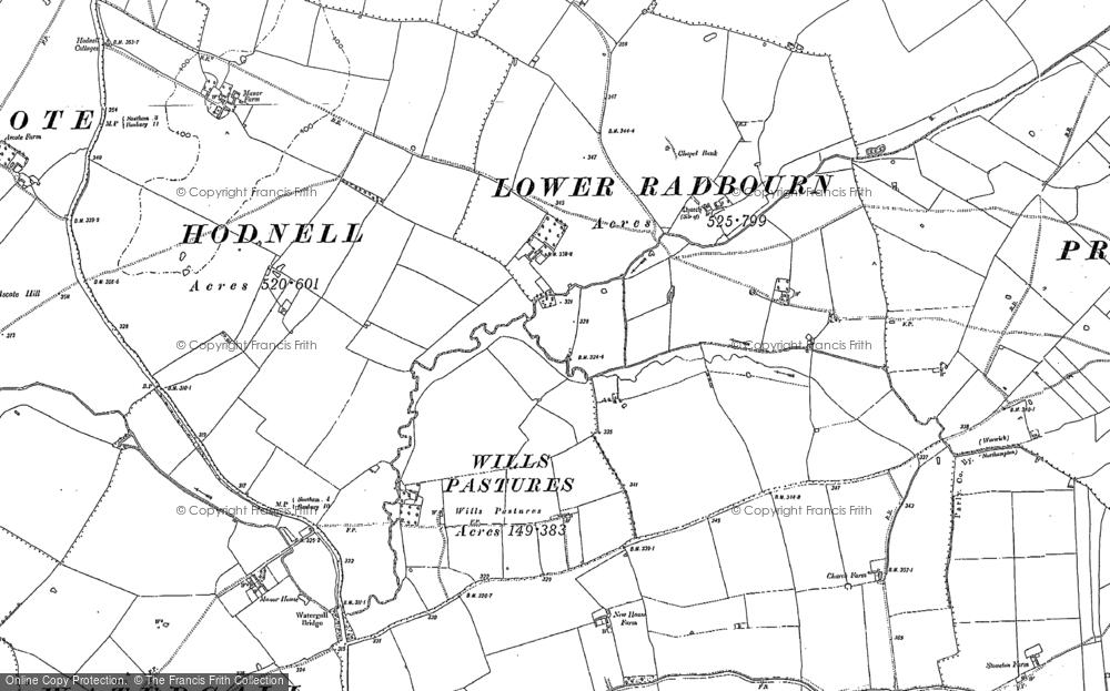 Wills Pastures, 1904