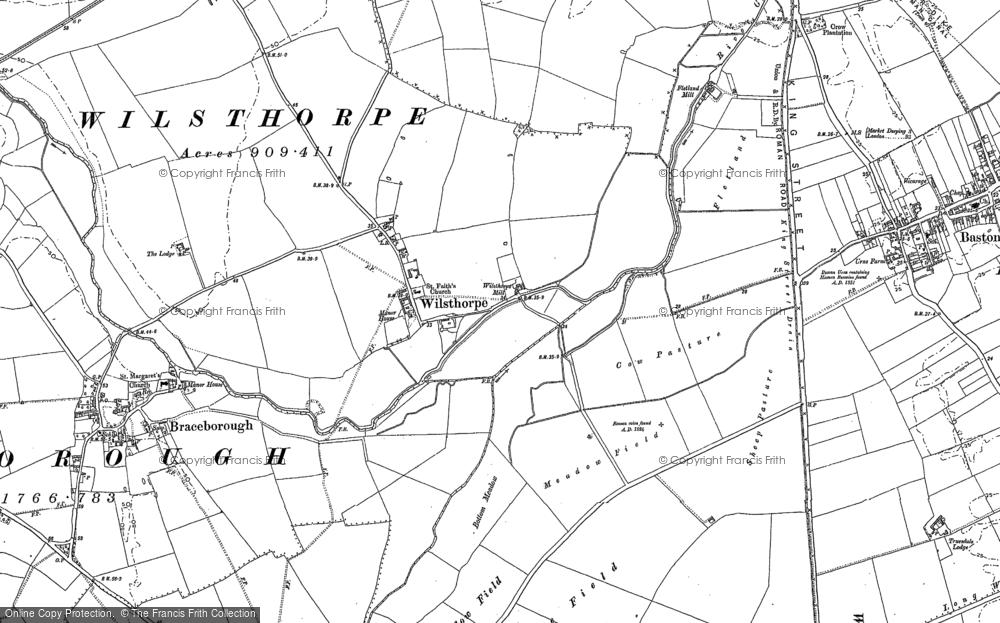 Wilsthorpe, 1886