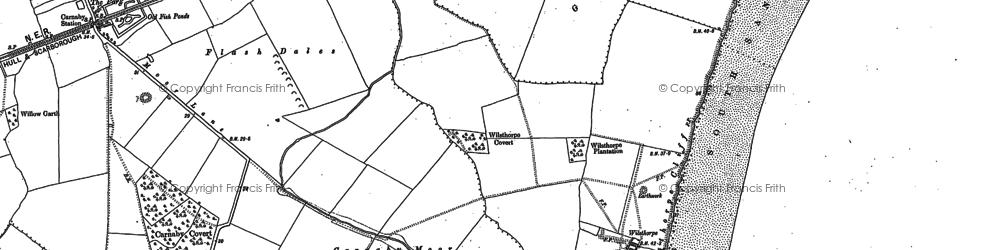 Old map of Wilsthorpe in 1909