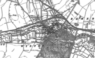 Old Map of Wilton, 1899 - 1900