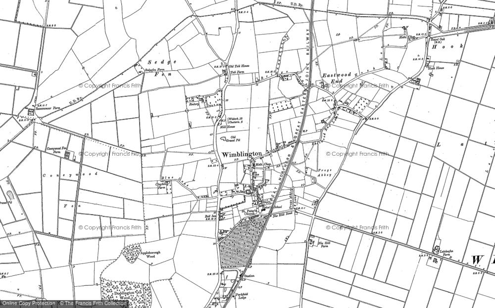 Wimblington, 1886
