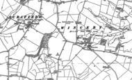 Old Map of Winceby, 1887