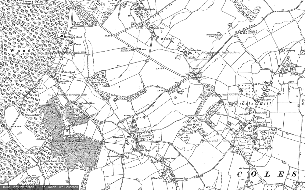 Winchmore Hill, 1897 - 1923