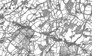 Old Map of Windmill Hill, 1897 - 1898