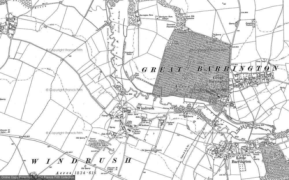 Windrush, 1900