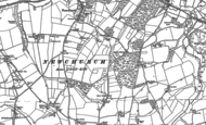 Old Map of Winford, 1896 - 1907