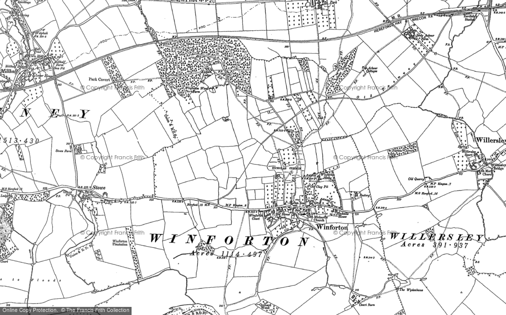 Winforton, 1886