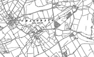 Old Map of Wingfield, 1881