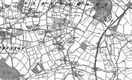 Old Map of Winnal, 1886