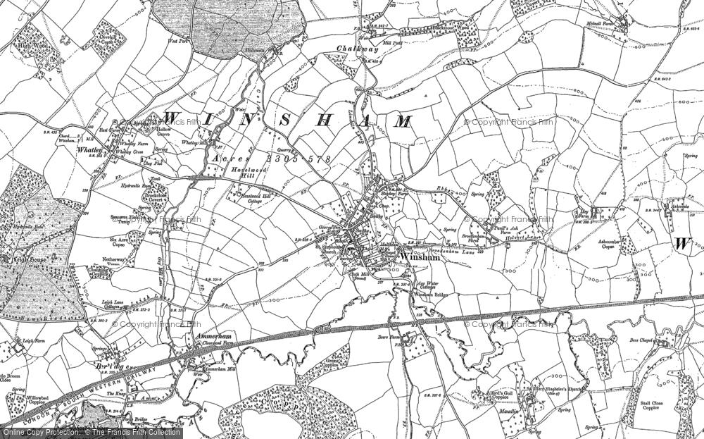 Winsham, 1901