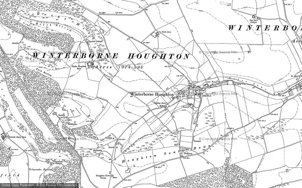 Winterborne Houghton, 1887