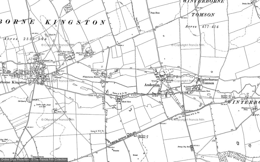 Winterborne Muston, 1887