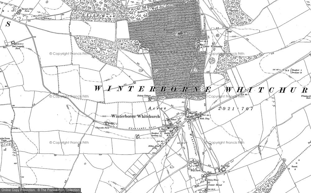 Winterborne Whitechurch, 1887