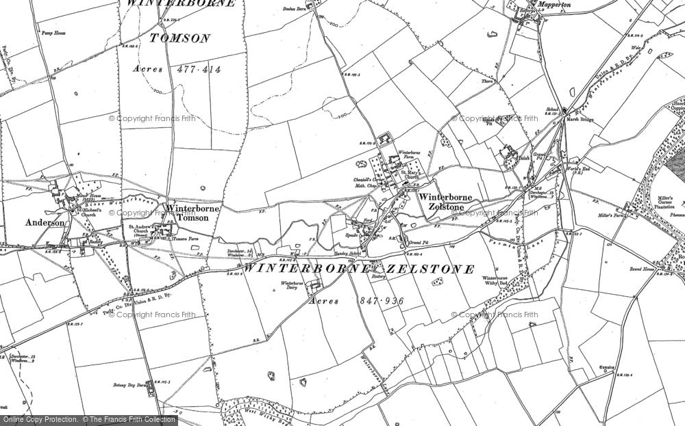 Winterborne Zelston, 1887