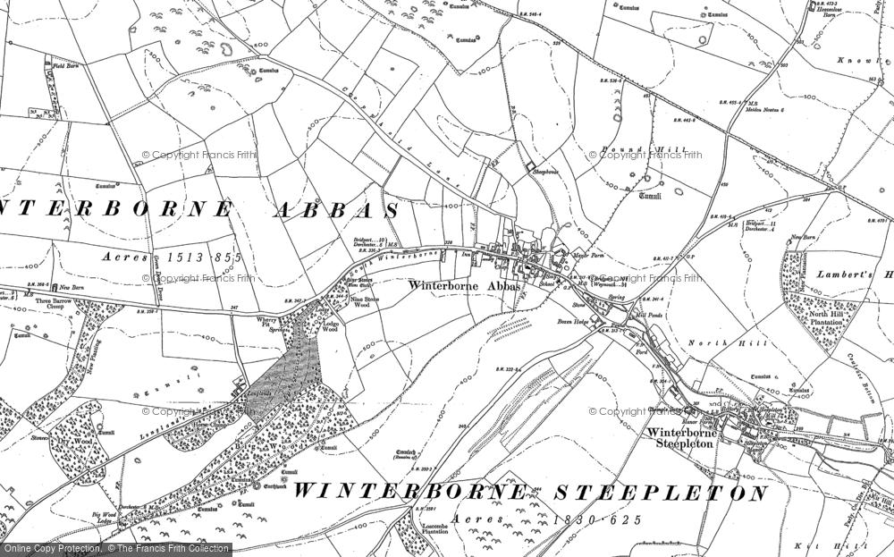 Winterbourne Abbas, 1886 - 1901