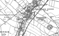 Old Map of Winterbourne Dauntsey, 1899 - 1923