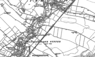 Old Map of Winterbourne Gunner, 1899 - 1923