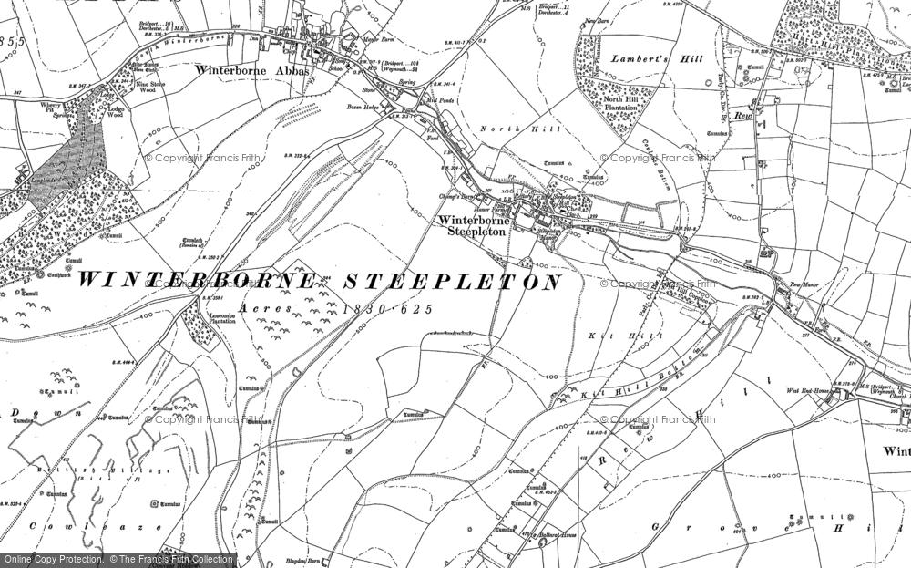 Winterbourne Steepleton, 1886 - 1901