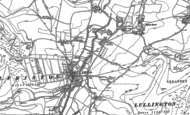 Old Map of Winton, 1898 - 1908