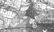 Old Map of Winton, 1907 - 1908