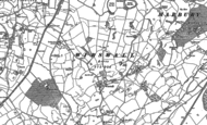 Old Map of Wirswall, 1897 - 1909
