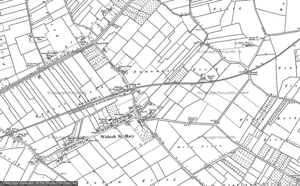 Wisbech St Mary, 1886 - 1900