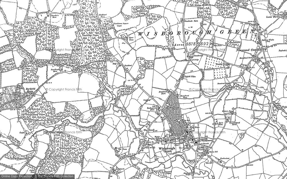 Wisborough Green, 1895 - 1896