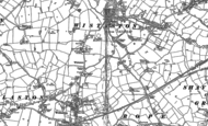 Old Map of Wistaston, 1897