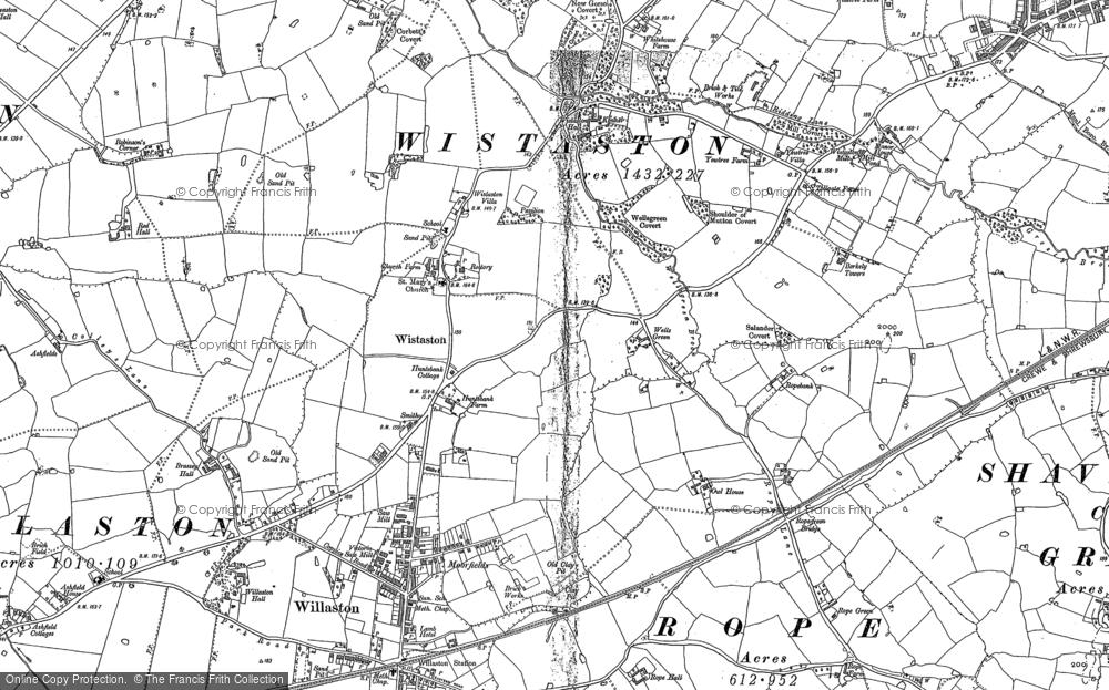 Wistaston, 1897