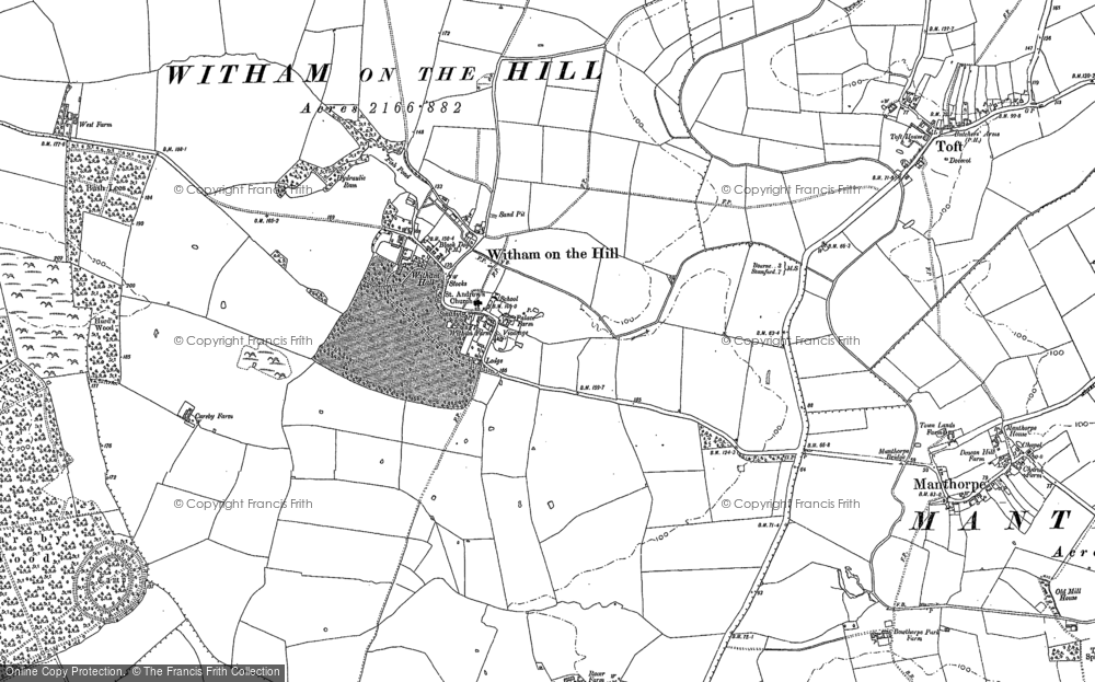 Witham on the Hill, 1886 - 1887