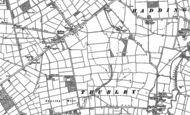 Old Map of Witham St Hughs, 1904