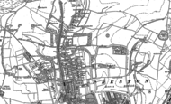 Old Map of Withdean, 1897 - 1909