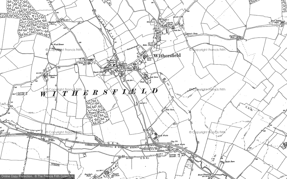 Withersfield, 1901 - 1902