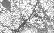 Old Map of Withnell Fold, 1893